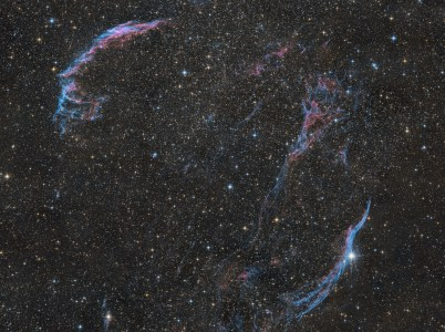 Michael Schmidt - The Veil Nebula - 12 panel mosaic
