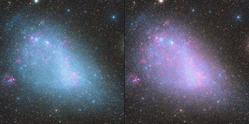 The Small Magellanic Cloud before and after Star Color Calibration