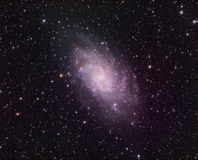 m33 RGB image mod cbg csc St