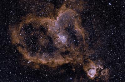 Heart Nebula Bicolor v4