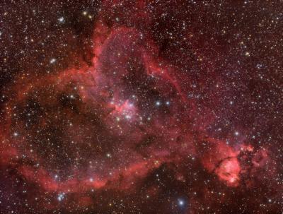 IC1805 LHaRGB wrzesien