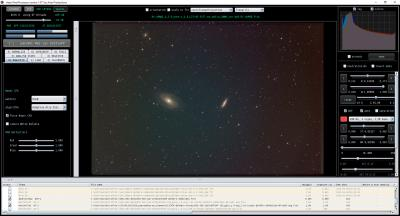 M81 M82 with old masterflat from IC434