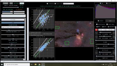 Settings APP star color calibration