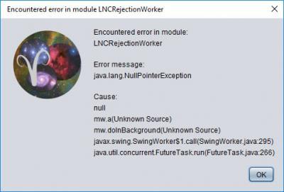 LNC Error APP 1.61