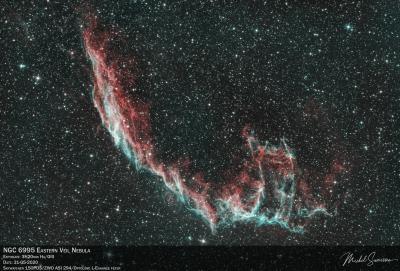 NGC6995 Eastern Veil Nebula V2