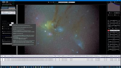 StarAnalysis minimumStarSize