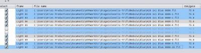 Multiple Frame Selection With CTRL SHIFT keys