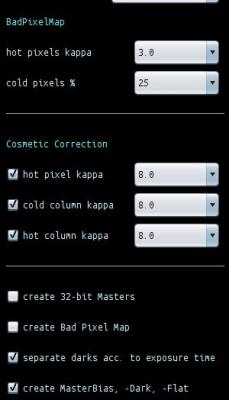 Cosmetic Correction new Functionality
