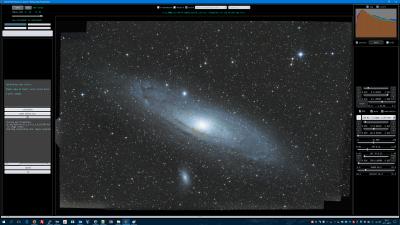 MichelSwerissen M31 uncalibrated