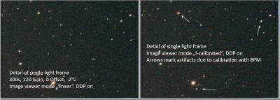 BPM3 calibration artifacts