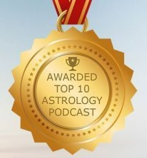 Top 10 Astrology Podcast Badge