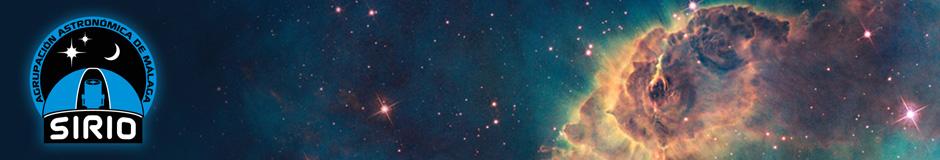 Cabecera Agrupación Astronómica de Málaga - SIRIO