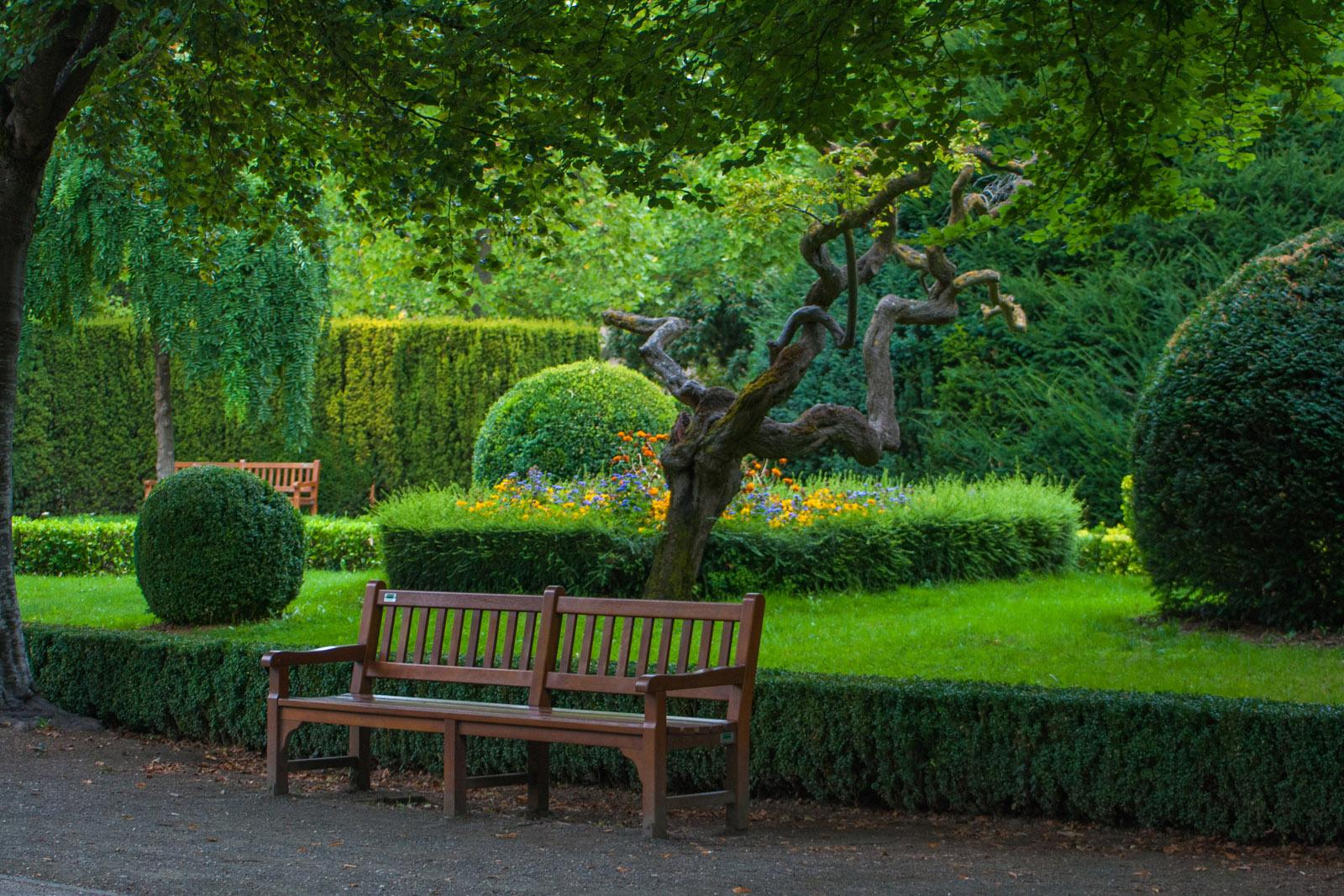 Jardines de la Taconera, un bello lugar para disfrutar de la naturaleza.