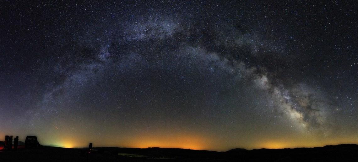Julio 2017. Máximo Bustamante. Mosaico Vía Láctea desde Don Domingo.