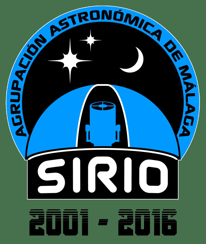 Logo conmemorativo del 15º aniversario de Sirio.