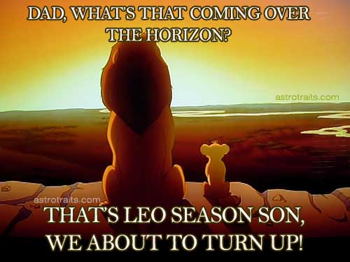 Leo Season On The Horizon Meme