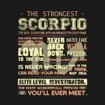 the strongest scorpio