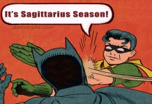 sagittarius season memes