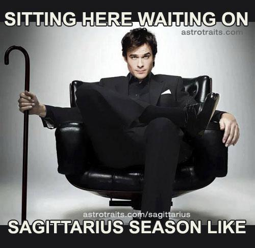 waiting on sagittarius season