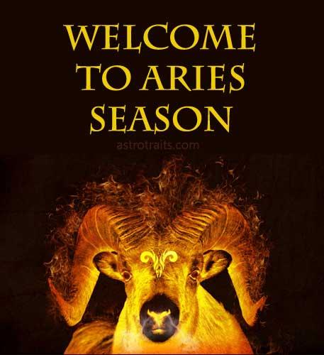 welcome to aries season