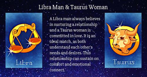 Libra Taurus Love