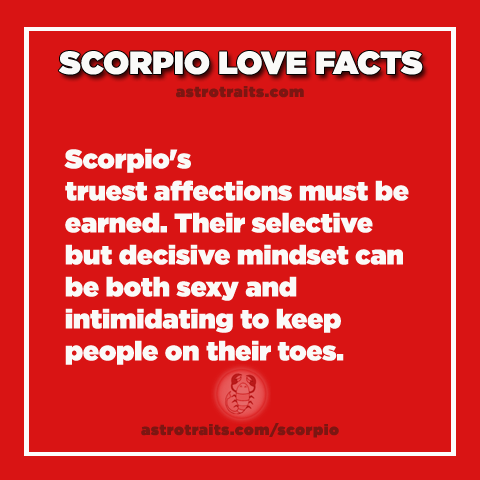 scorpio truths about love