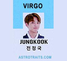 jungkook zodiac sign virgo jk bts
