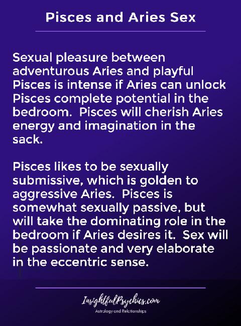 pisces aries lovemaking