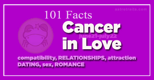Cancer first love at and sight scorpio Why Are