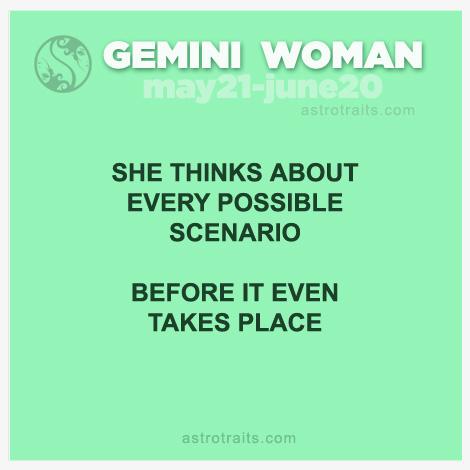 mental energy of gemini woman
