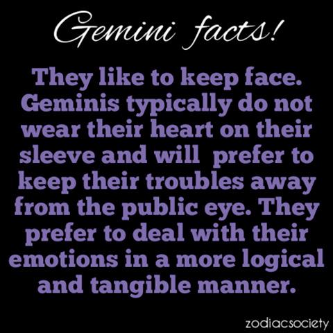 gemini female facts
