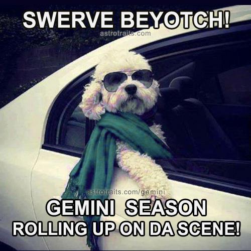 its gemini season funny memes