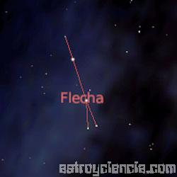 constelación de la Flecha