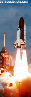 Transbordador espacial Columbia en 1982