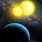Descubren dos planetas con dos soles