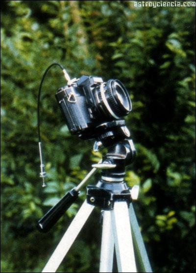 Cámara argénica para fotografiar el cielo