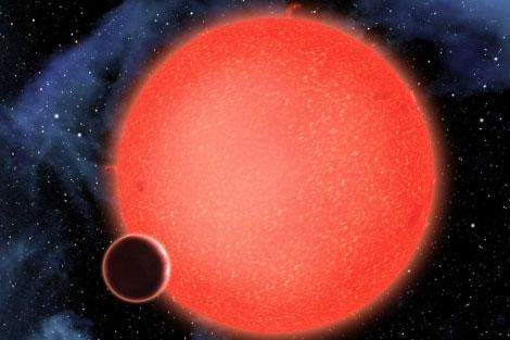 Planeta descubierto cubierto de agua