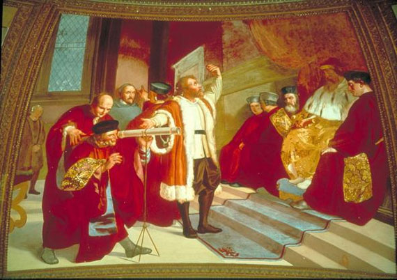 Fresco de Galileo Galileo