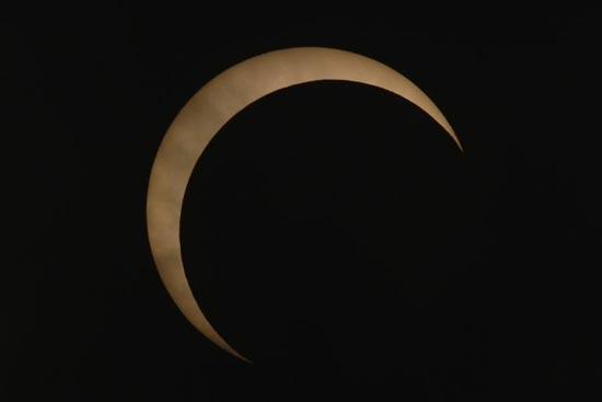 Eclipse desde Shangai