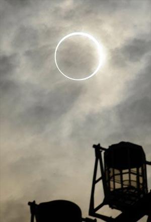 Eclipse del 20 de mayo desde Tokio