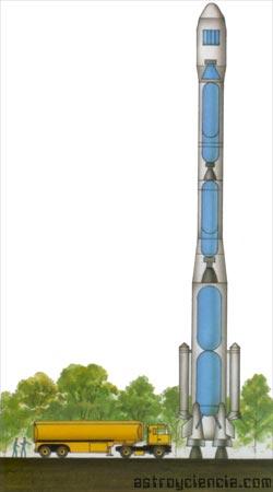 9/10 partes de un cohete están llenas de combustible
