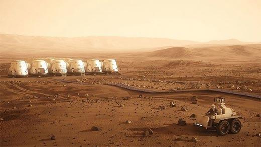 Colonización de Marte a partir de 2023