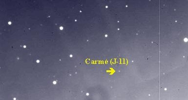 Carme: Satélite de Júpiter