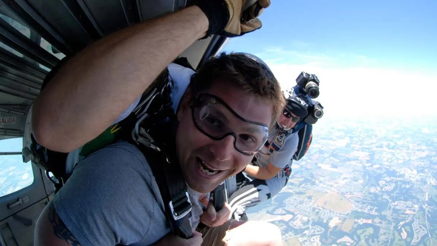 Tandem Skydive Video Packages
