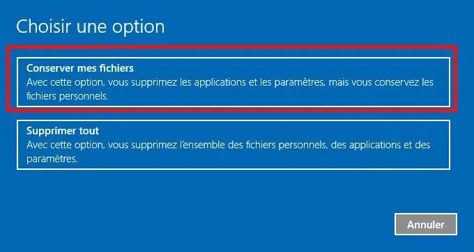 reinstaller windows 10 tutoriel pour