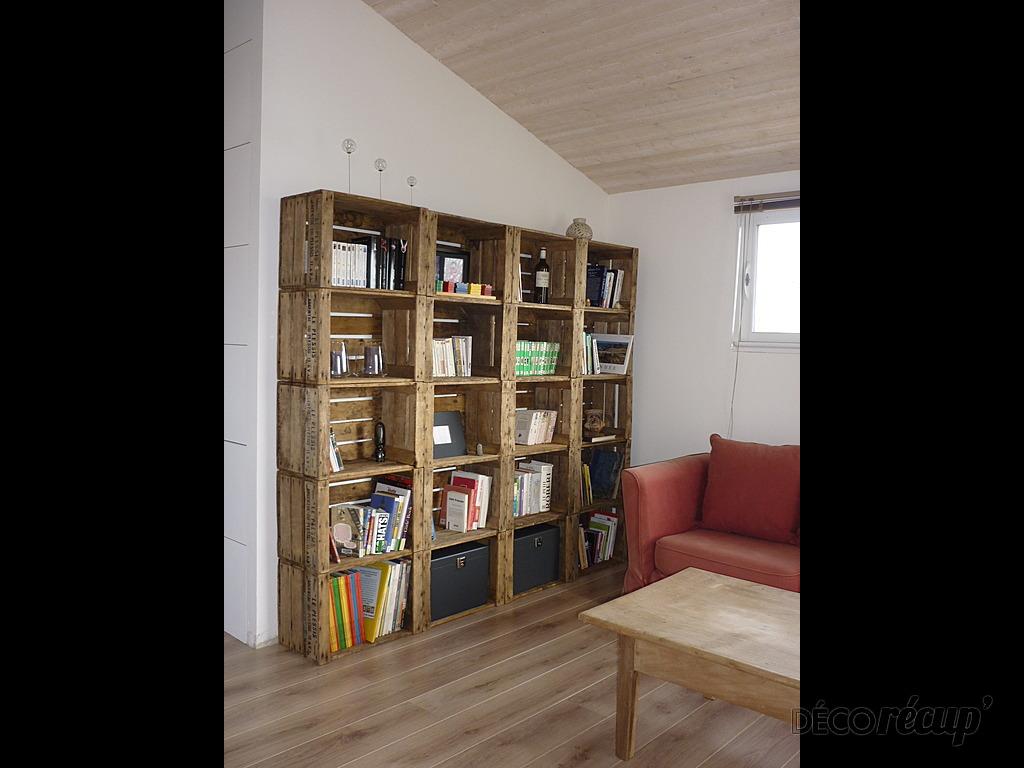 Cration De Bibliothque Avec De La Rcupration