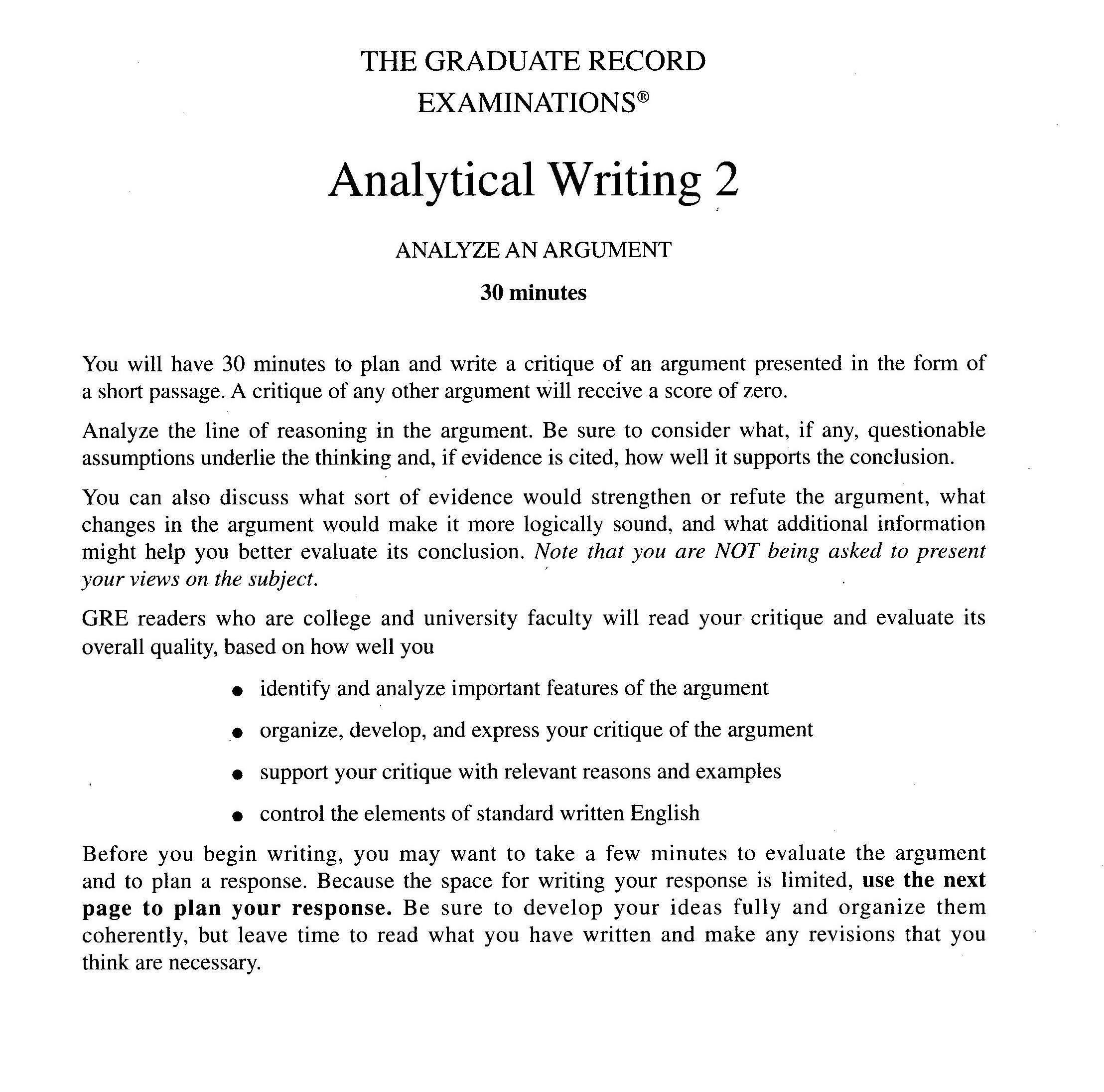 Examples Of Gre Essays Idealstalist