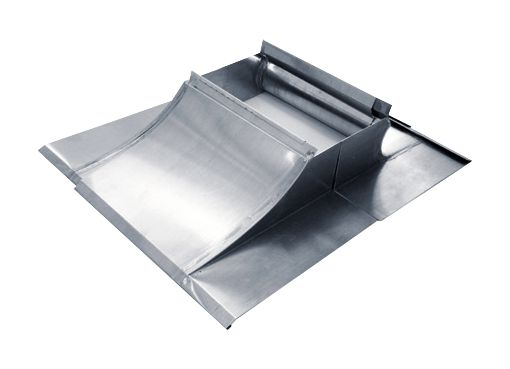 garniture de cheminee extensible zinc