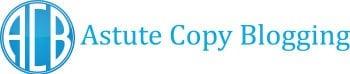 Astute copy blogging logo