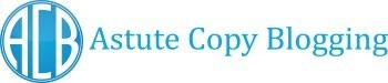 Astute Copy Blogging - the Logo